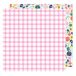 American Crafts - Star Gazer Collection - 12 x 12 Double Sided Paper - Happy