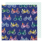American Crafts - Star Gazer Collection - 12 x 12 Double Sided Paper - Cruisin'