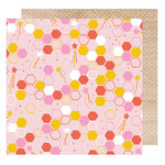American Crafts - Star Gazer Collection - 12 x 12 Double Sided Paper - Blissful