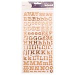 American Crafts - Star Gazer Collection - Thickers - Alpha - Copper Foil