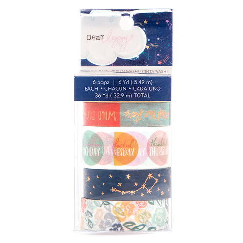 American Crafts - Star Gazer Collection - Washi Tape - Copper Foil