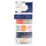 American Crafts - Star Gazer Collection - Washi Tape - Copper Foil