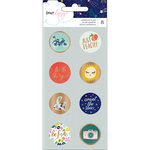 American Crafts - Star Gazer Collection - Flair with Foil Accents