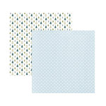 American Crafts - Sweater Weather Collection - 12 x 12 Double Sided Paper - Brrrr