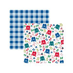 American Crafts - Sweater Weather Collection - 12 x 12 Double Sided Paper - Bundle Up