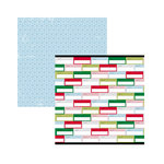American Crafts - Sweater Weather Collection - 12 x 12 Double Sided Paper - Remember When