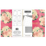 American Crafts - Monthly Planner - Pink Floral