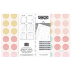 American Crafts - Monthly Planner - Colored Polka Dot