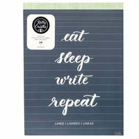 Kelly Creates - Lined Paper Pad - 8.5 x 11 - 50 Pages