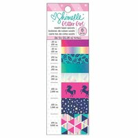 American Crafts - Glitter Girl Collection - Washi Tape with Foil Accents