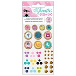 American Crafts - Glitter Girl Collection - Embellishment Pack