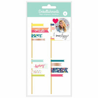 American Crafts - Layered Flags with Foil Accents - Dear Lizzy