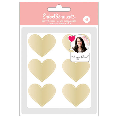 American Crafts - Puffy Hearts - Maggie Holmes