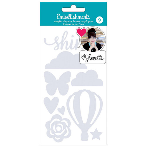 American Crafts - Acrylic Shapes - Shimelle