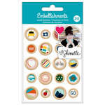 American Crafts - Wood Buttons - Shimelle