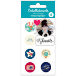 American Crafts - Adhesive Badges - Shimelle