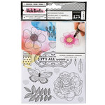 American Crafts - All The Good Things Collection - Cardstock Stickers - Watercolor