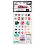 American Crafts - All The Good Things Collection - Finishing Embellishments
