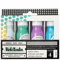 American Crafts - All The Good Things Collection - Mediums - Acrylic Color Pop Paint - Set 2