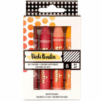 Vicki Boutin - All The Good Things Collection - Mediums - Art Crayons - Set 1 - Warm