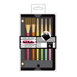 American Crafts - All The Good Things Collection - Paint Brush Set