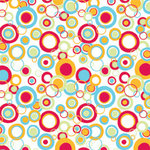 American Crafts - 12x12 Paper - Celebration Collection - DJ