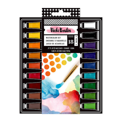 American Crafts - All The Good Things Collection - Mediums - Watercolor Set