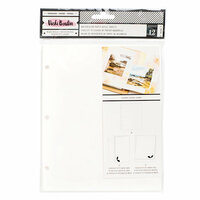 American Crafts - All The Good Things Collection - Watercolor Paper Refills