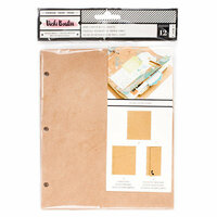 American Crafts - All The Good Things Collection - Kraft Paper Refills