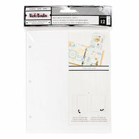American Crafts - All The Good Things Collection - Mixed Media Paper Refills