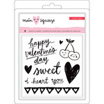 Crate Paper - Main Squeeze Collection - Clear Acrylic Stamps