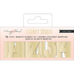 Crate Paper - Magnet Studio Collection - Alpha Small - Gold
