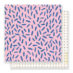 Crate Paper - Good Vibes Collection - 12 x 12 Double Sided Paper - Girls Night