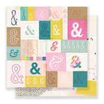 Crate Paper - Good Vibes Collection - 12 x 12 Double Sided Paper - Serious Fun