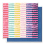 Crate Paper - Good Vibes Collection - 12 x 12 Double Sided Paper - Passion