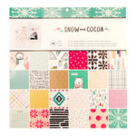 Crate Paper - Snow and Cocoa Collection - 12 x 12 Paper Pad