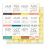 Crate Paper - Here & There Collection - 12 x 12 Double Sided Paper - Express