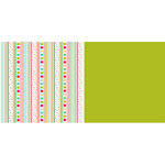 American Crafts - Kids Collection - 12x12 Double Sided Paper - Recess, CLEARANCE