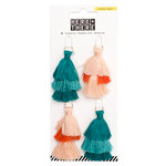 Crate Paper - Here & There Collection - Tiered Tassels