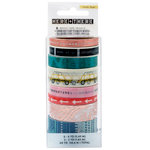 Crate Paper - Here & There Collection - Washi Tape With Foil Accents