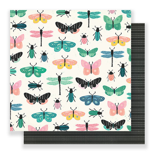 Crate Paper - Flourish Collection - 12 x 12 Double Sided Paper - Charming