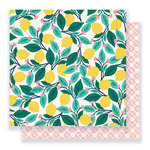 Crate Paper - Flourish Collection - 12 x 12 Double Sided Paper - Ponderosa