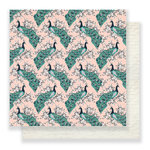 Crate Paper - Flourish Collection - 12 x 12 Double Sided Paper - Aviary