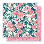 Crate Paper - Flourish Collection - 12 x 12 Double Sided Paper - Fragrant