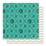 Crate Paper - Flourish Collection - 12 x 12 Double Sided Paper - Nostalgic