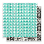 Crate Paper - Flourish Collection - 12 x 12 Double Sided Paper - Charlotte