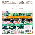 Crate Paper - Flourish Collection - 6 x 6 Paper Pad