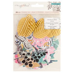 Crate Paper - Flourish Collection - Ephemera with Glitter Accents