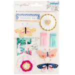 Crate Paper - Flourish Collection - Standouts with Glitter and Foil Accents