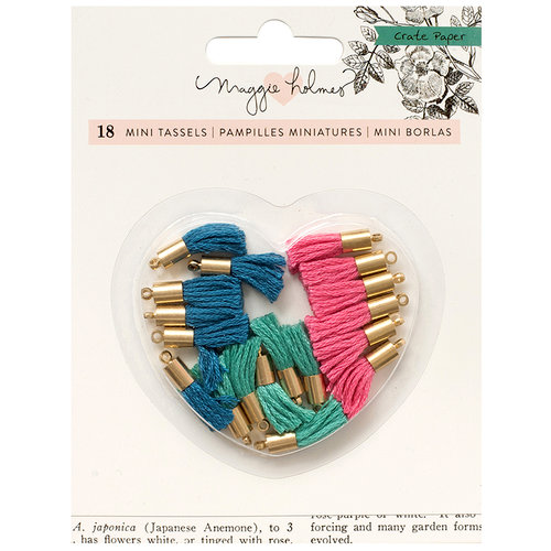 Crate Paper - Flourish Collection - Tiny Tassels